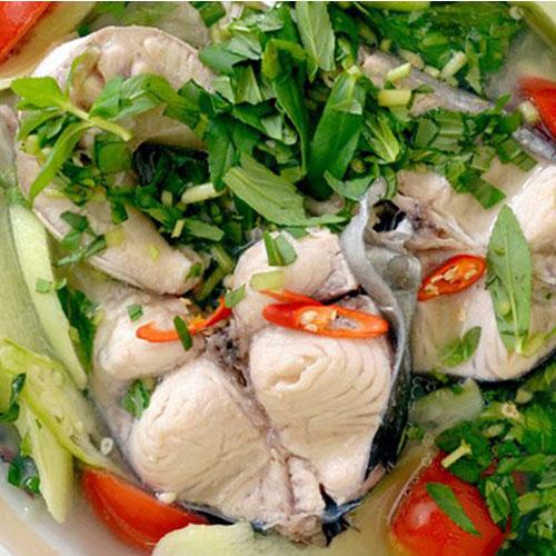Canh chua cá lóc- món ăn dân dã khó quên