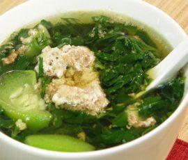 Canh cua rau đay- bữa cơm quê nối dài kí ức