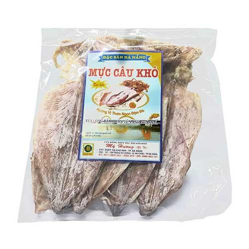 Mực khô đặc sản chính gốc Đà Nẵng