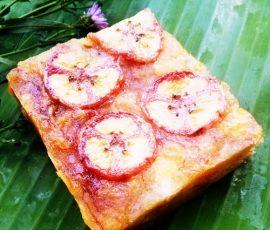 Bánh chuối - nét văn hóa ẩm thực đặc trưng của người Tày