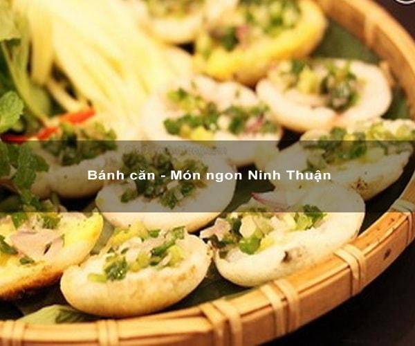 Banh căn - Món ngon Ninh Thuận