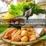 Bún đậu mắm tôm – Đặc sản của người Hà Nội