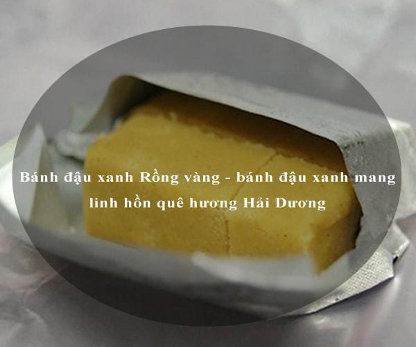 Bánh đậu xanh Rồng vàng - bánh đậu xanh mang linh hồn quê hương Hải Dương 3