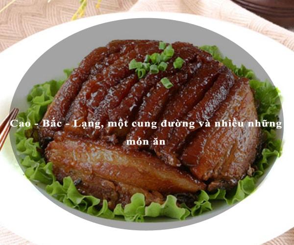 Cao - Bắc - Lạng, một cung đường và nhiều những món ăn 6