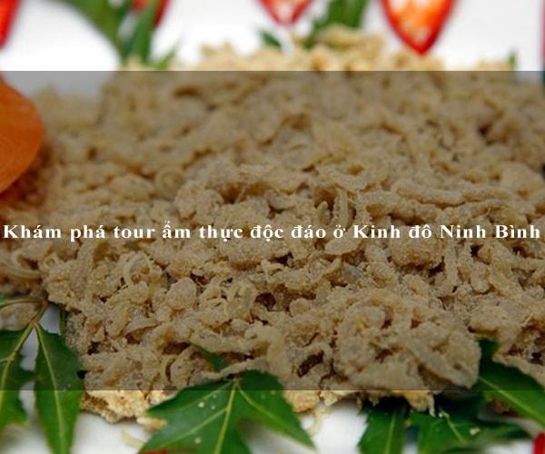 Khám phá tour ẩm thực độc đáo ở Kinh đô Ninh Bình 2