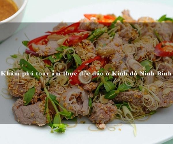 Khám phá tour ẩm thực độc đáo ở Kinh đô Ninh Bình 5
