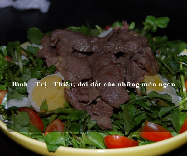 Bình - Trị - Thiên, dải đất của những món ngon 4