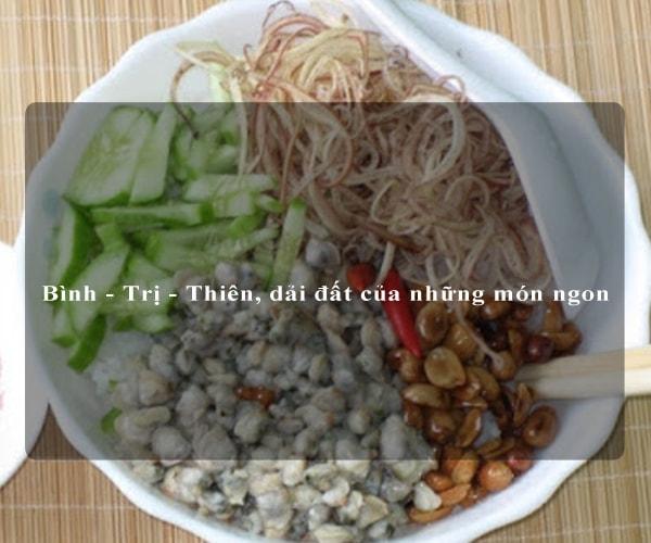 Bình - Trị - Thiên, dải đất của những món ngon 5