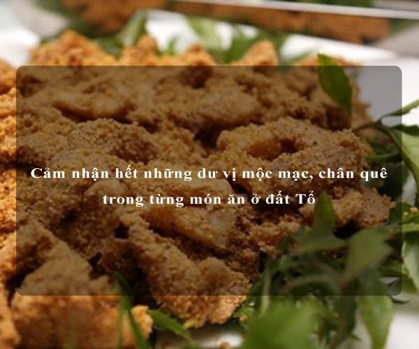 Cảm nhận hết những dư vị mộc mạc, chân quê trong từng món ăn ở đất Tổ 1
