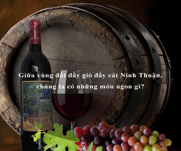 Giữa vùng đất đầy gió đầy cát Ninh Thuận, chúng ta có những món ngon gì? 2