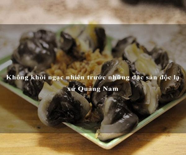 Không khỏi ngạc nhiên trước những đặc sản độc lạ xứ Quảng Nam 6